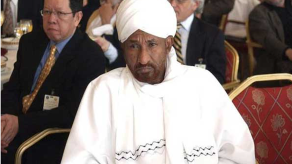 The Prime Minister of Sudan died of coronary heart disease
